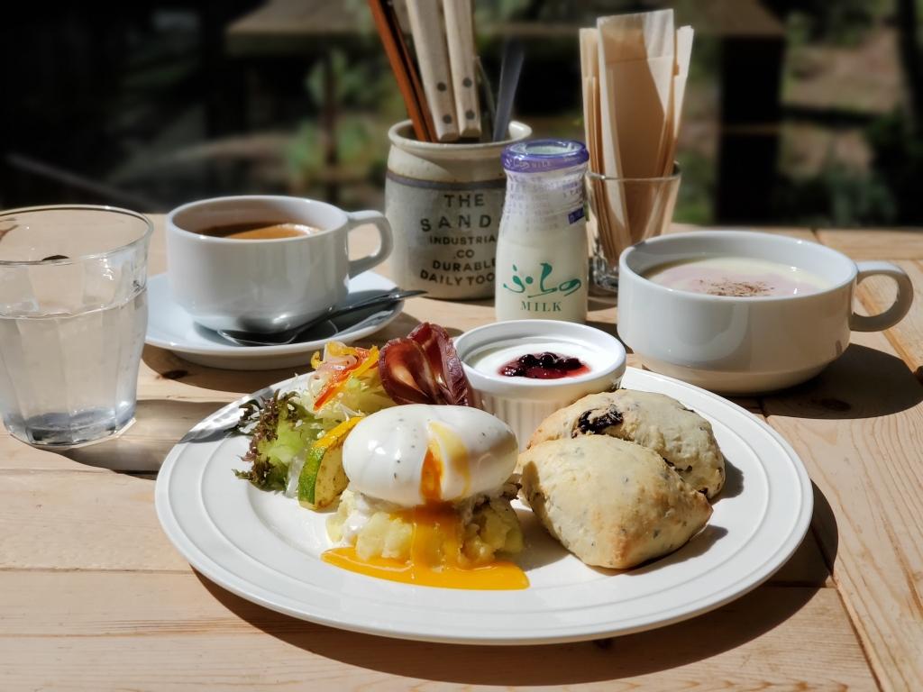 朝食完成!